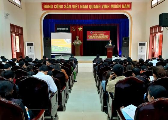 Hương Khê  tập huấn nghiệp vụ và công nghệ thông tin Tổng điều tra dân số và nhà ở năm 2019