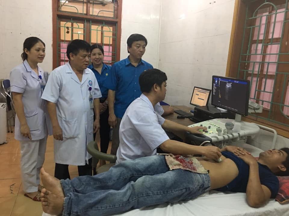 LĐLĐ huyện tổ chức khám sức khỏe cho đoàn viên  công nhân viên chức lao động năm 2019