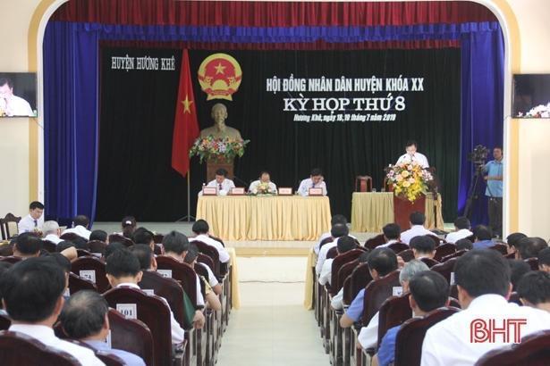 HĐND huyện Hương Khê tổ chức thành công kỳ họp thứ 8