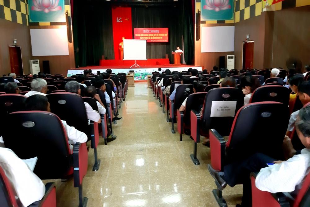 Tập huấn, hướng dẫn thực hiện Nghị quyết số 123  của HĐND tỉnh Hà Tĩnh.
