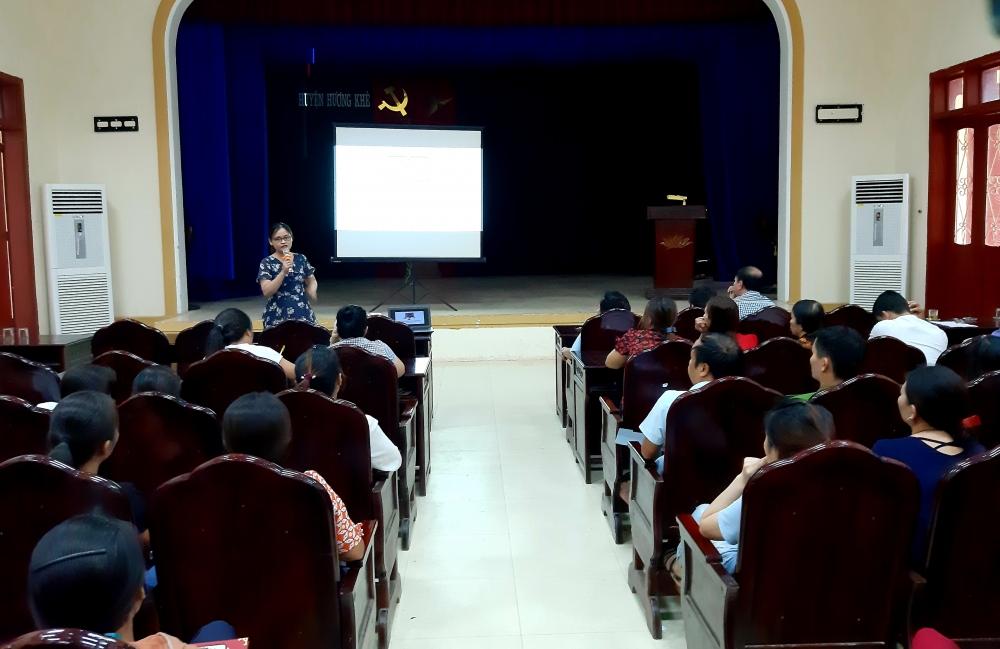 Hương khê: Tập huấn nâng cao kiến thức về VSATTP