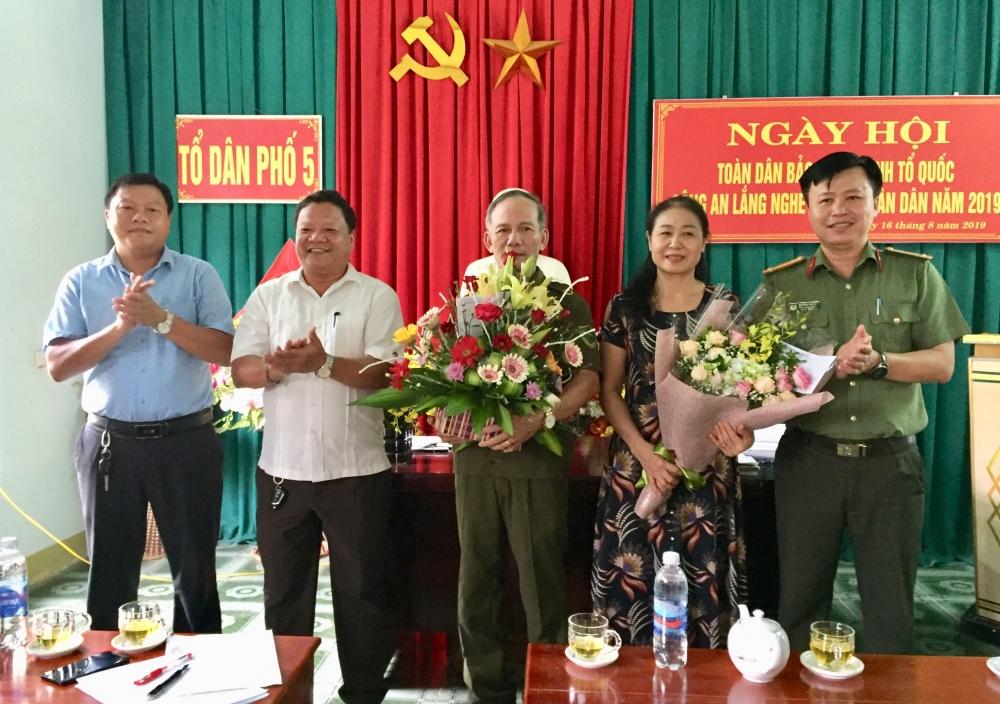 Tổ dân phố 5 Thị trấn  Tổ chức Ngày hội toàn dân bảo vệ An ninh Tổ quốc