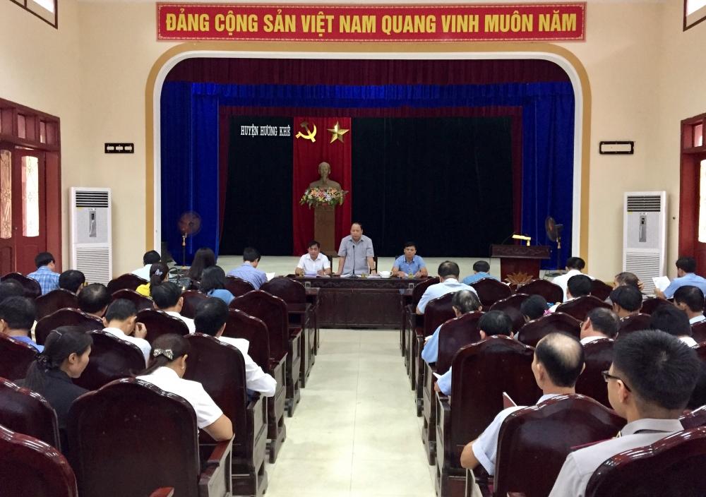 Phiên họp thứ 35 HĐND huyện, triển khai nhiệm vụ Quý IV