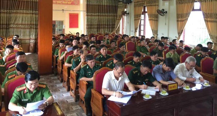 Giao Ban các lực lượng Công an – Quân sự - Biên phòng