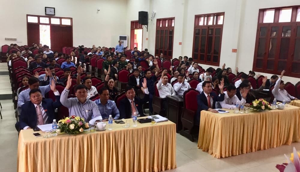 Hội đồng nhân dân huyện Hương Khê  Thông qua 4 Nghị quyết thúc đẩy phát triển kinh tế -xã hội năm 2020.