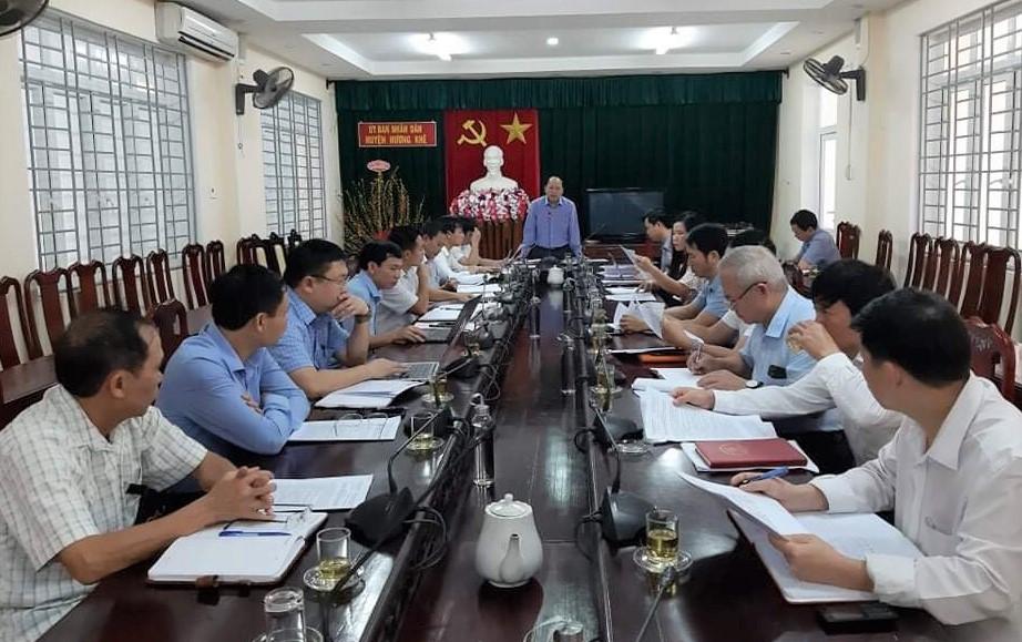 Phiên họp thường kỳ thứ 40 HĐND huyện Hương Khê