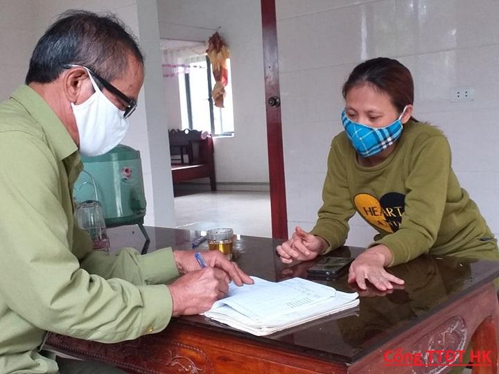 Hương Khê: Hoàn thành việc điều tra nhanh sức khỏe Nhân dân.