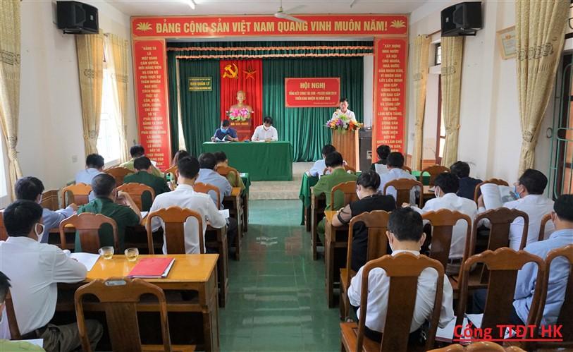 Ban quản lý rừng phòng hộ Hương khê triển khai nhiệm vụ BVR-PCCCR năm 2020