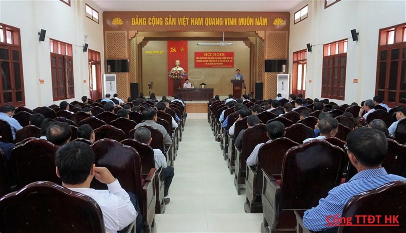 Hương Khê: Triển khai công tác phòng, chống thiên tai - tìm kiếm cứu nạn  năm 2020 và chống hạn cho vụ hè thu