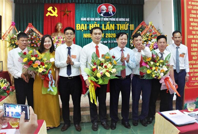 Đại hội Đảng bộ Ban quản lý rừng phòng hộ Hương Khê, bầu 7 đồng chí vào Ban chấp hành nhiệm kỳ 2020-2025