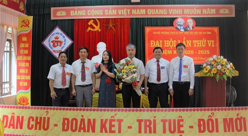 Đại hội Chi bộ trường THCS &THPT Dân tộc nội trú Hà Tĩnh Nhiệm kỳ 2020-2025