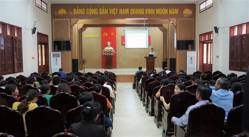 Tập huấn Triển khai chính sách Dân số vùng biên