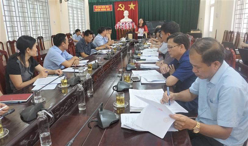 Ban giám sát HĐND tỉnh  làm việc với Hương Khê về công tác Dân số