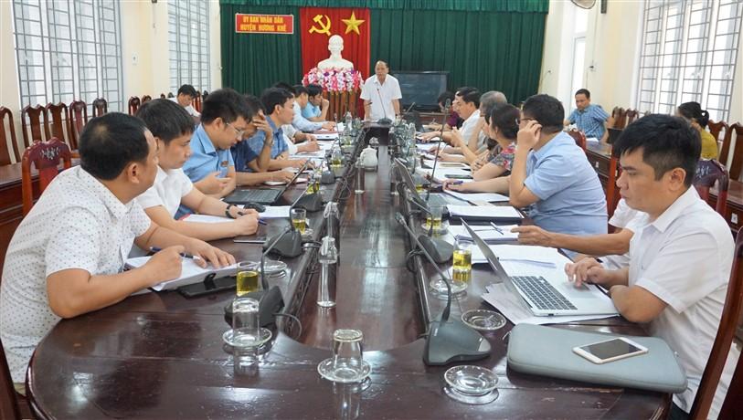 Thường trực HĐND huyện tổ chức Phiên họp thứ 42  thống nhất nội dung kỳ họp thứ 13 và 14.