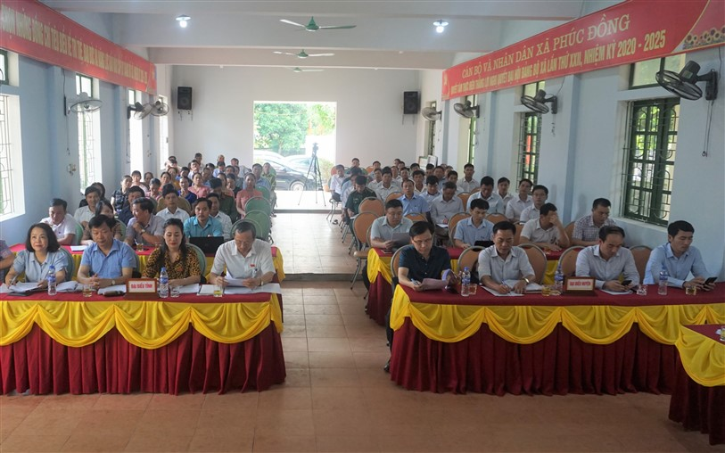 Tổ đại biểu HĐND tỉnh tiếp xúc cử tri tại huyện Hương Khê