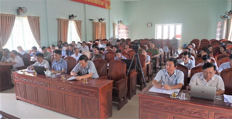 Xây dựng NTM ở Hương Xuân cần sự vào cuộc  đồng bộ của cả hệ thống chính trị
