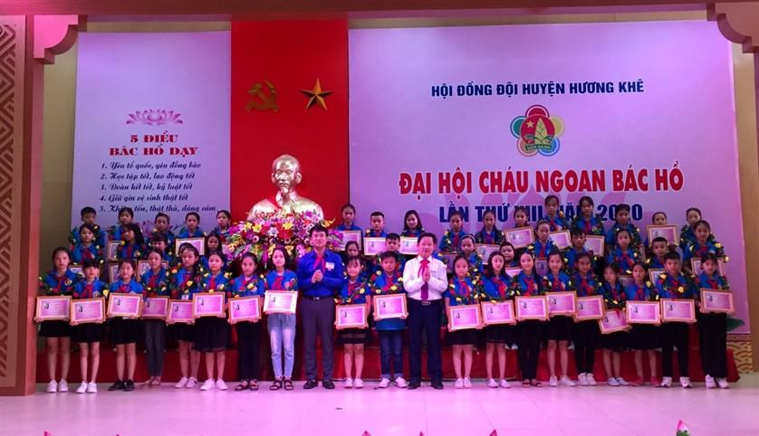 Đại hội Cháu ngoan Bác Hồ huyện Hương Khê lần thứ XIII  thành công tốt đẹp.