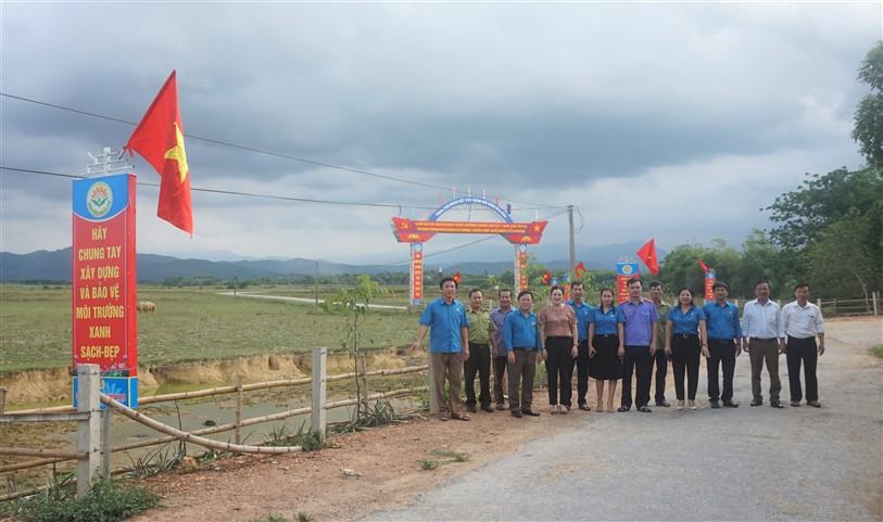 LĐLĐ huyện, hoàn thành công trình chào mừng Đại hội Đảng bộ huyện Hương Khê NK 2020 – 2025.
