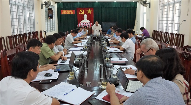 Thường trực HĐND huyện tổ chức phiên họp thứ 44