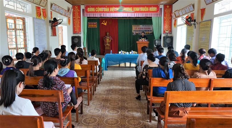 Hương Khê: Trên 170 lao động nông thôn được học nghề.
