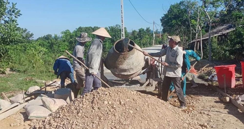 Hội nông dân các xã  hỗ trợ, giúp đỡ các thôn xây dựng Khu dân cư Nông thôn mới kiểu mẫu đạt chuẩn năm 2020
