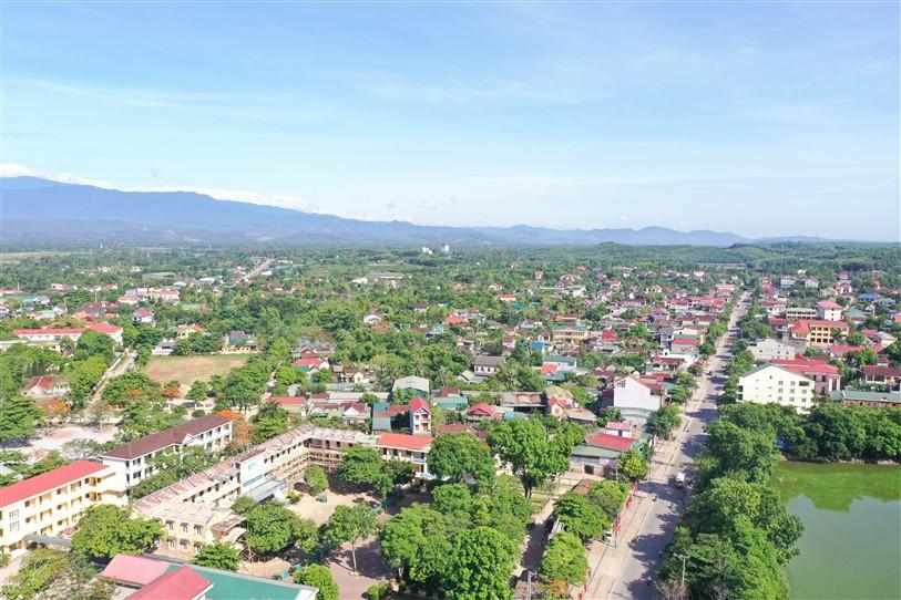 Giới thiệu về huyện Hương Khê