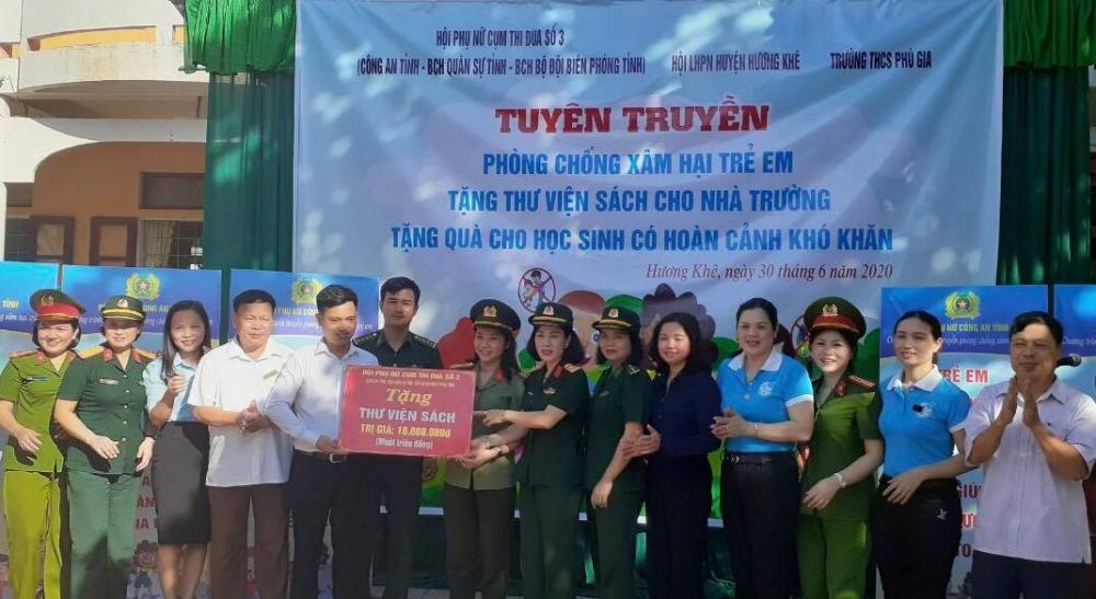 Phát huy truyền thống nhân ái hướng về kỷ niệm 90 năm thành lập Hội Liên hiệp Phụ nữ Việt Nam