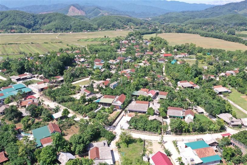 Đổi thay diện mạo vùng quê biên giới Hòa Hải từ phong trào xây dựng Khu dân cư Nông thôn mới kiểu mẫu