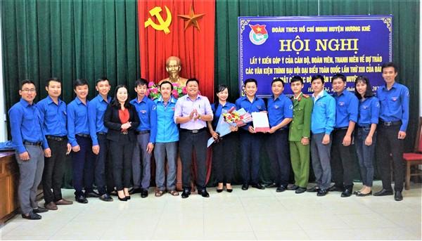 13 ý kiến của ĐVTN góp ý dự thảo các văn kiện trình Đại hội Đại biểu toàn quốc lần thứ XIII của Đảng và ra mắt CLB  Lý luận trẻ Hương Khê
