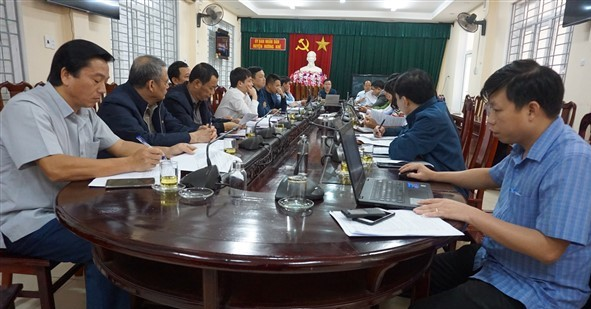 Hội nghị liên tịch bàn, thống nhất nội dung, chương trình, kế hoạch Kỳ họp thứ 16, khóa XX, nhiệm kỳ 2016 - 2021