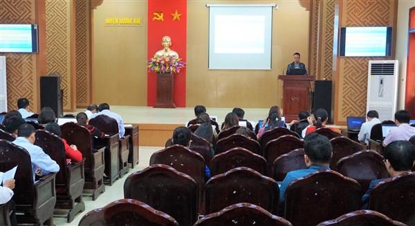 Tập huấn đánh gía hài lòng của người dân, doanh nghiệp theo Thông tư của Văn phòng Chính phủ.