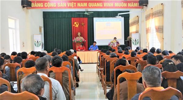 Hội Nông dân huyện góp ý dự thảo các văn kiện Đại hội Đảng toàn quốc lần thứ XIII