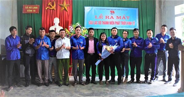 Thành lập Câu lạc bộ thanh niên phát triển kinh tế xã Hà Linh