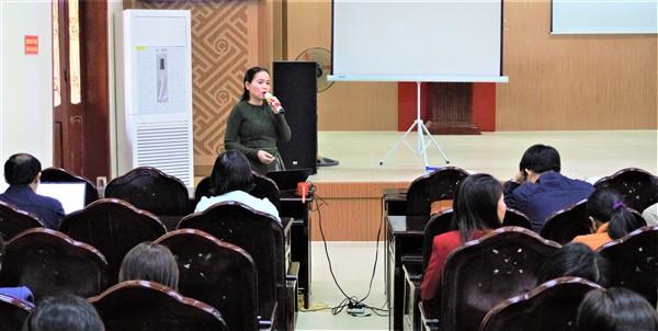 Gần 200 cán bộ nữ được tập huấn tăng cường sự tham gia của phụ nữ vào các vị trí quản lý, lãnh đạo và cơ quan dân cử.