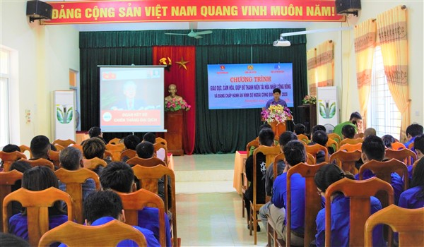Hương Khê 40 người đang chấp hành án hình sự tại cộng đồng, người tái hòa nhập cộng đồng