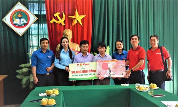 Gần 200 triệu hỗ trợ trường học, một số đối tượng thuộc diện khó khăn ở Hương Khê