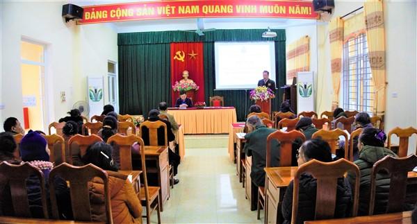 Hội Cựu Thanh niên xung phong huyện Hương Khê triển khai nhiệm vụ 2021.