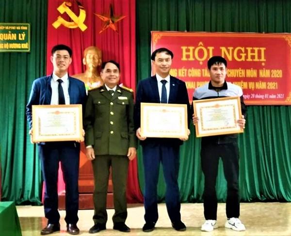 Ban Quản lý Rừng phòng hộ Hương Khê tổng kết công tác xây dựng Đảng, chuyên môn năm 2020.