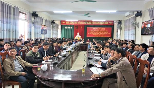 Hội nghị trực tuyến toàn tỉnh triển khai công tác bầu cử đại biểu  Quốc hội khóa XV và đại biểu HĐND các cấp nhiệm kỳ 2021-2026