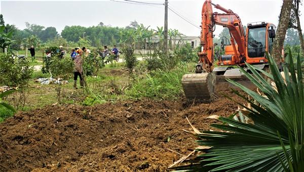 Hương Bình tập trung hoàn thành 4 tiêu chí còn lại, để sớm đạt chuẩn xã nông thôn mới.