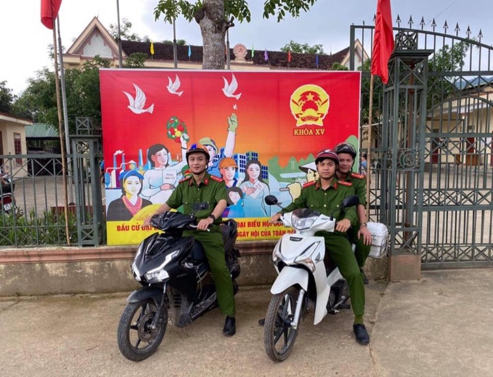 Công an Hương Khê tăng cường các biện pháp đảm bảo ANTT, phục vụ bầu cử đại biểu QH khóa XV và HĐND các cấp.