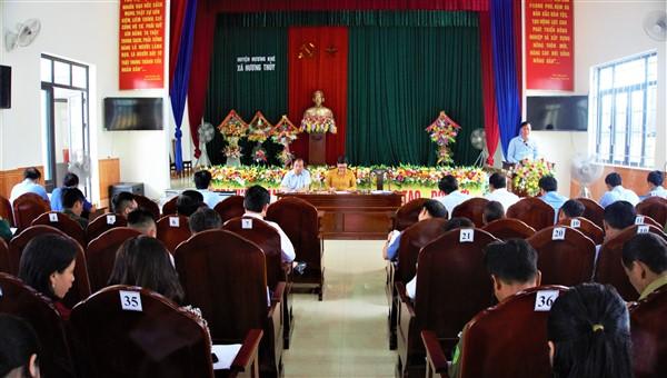 Hương Thủy quyết tâm đạt 5 tiêu chí nông thôn mới còn lại trong năm 2021