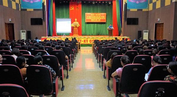 Tập huấn kiến thức, kỹ năng cho 191 nữ ứng cử viên đại biểu HĐND xã, thị trấn ở huyện Hương Khê