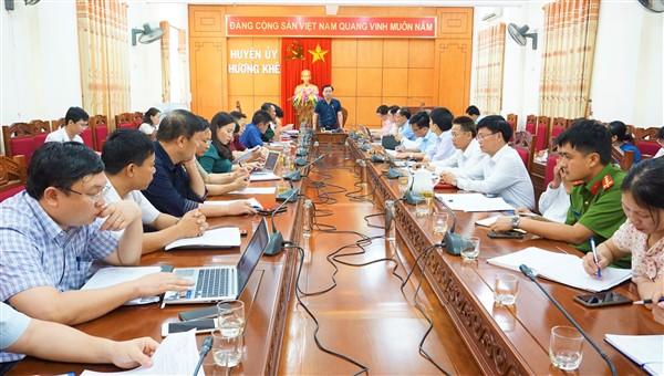 Thường trực Huyện ủy chỉ đạo Đảng ủy Phúc Đồng một số nhiệm vụ trọng tâm