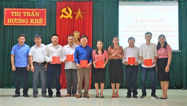 22 học viên hoàn thành khóa học sơ cấp chăn nuôi, thú y.