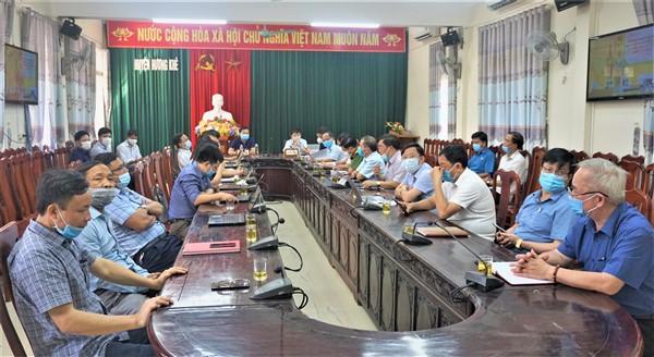 Hội nghị trực tuyến toàn quốc triển khai công tác bầu cử đại biểu Quốc hội khóa XV và đại biểu HĐND các cấp.