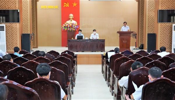 Hội nghị bổ cứu sản xuất vụ hè thu và phòng chống dịch trên đàn gia súc