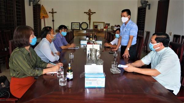 Các cơ sở tôn giáo tại Hương Khê chung tay phòng chống dịch bệnh Covid-19