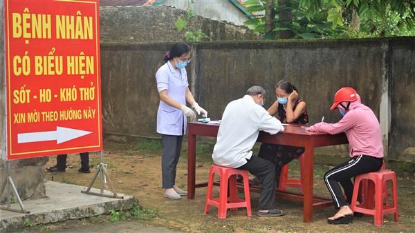 126 công dân đi từ Bệnh viện Đa khoa tỉnh Hà Tĩnh trở về trên địa bàn huyện