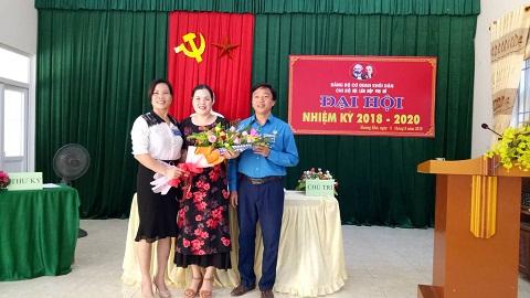 Chi bộ Hội LHPN huyện Hương Khê tổ chức đại hội nhiệm kỳ 2018 - 2020